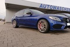 Mercedes-C-Klasse-Kombi-blau-AMG-Borbet-2