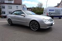 Mercedes-CLK-Cabrio-silber-Barracuda-Arrows-2