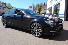 Mercedes-CLS-schwarz-Borbet-3